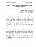 Xây dựng chương trình giám sát phụ tải điện tiêu thụ ứng dụng công nghệ iot
