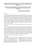 Nghiên cứu dạng phá hủy thứ iii của vật liệu graphene một lớp đơn sử dụng phương pháp cơ học phân tử (molecular mechanic)