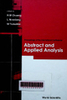 Abstract and applied analysis: Proceedings of the international conference, Hanoi, Vietnam, 13-17 August 2002