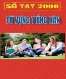 Ebook Sổ tay 2000 từ vựng tiếng Hàn