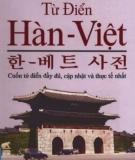 Ebook Từ điển Hàn - Việt