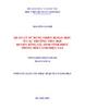 Luận văn Thạc sĩ Quản lý Giáo dục: Quản lý  sử dụng thiết bị dạy học ở các trường tiểu học huyện Sông Lô, tỉnh Vĩnh Phúc trong bối cảnh hiện nay(KLV02417)
