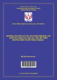 Nghiên cứu ứng xử của cấu kiện dầm bán lắp ghép sử dụng hai loại vật liệu bê tông Geopolymer và bê tông xi măng