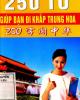 Ebook 250 từ giúp bạn đi khắp Trung Hoa: Phần 1