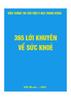 365 lời khuyên về sức khỏe