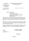 Công văn số 454/TCGDNN-KĐCL