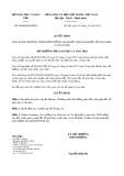 Quyết định 4860/2019/QĐ-BGDĐT