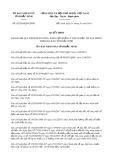 Quyết định số 02/2019/QĐ-UBND tỉnh Bắc Ninh