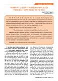 Nghiên cứu lý luận về marketing trực tuyến trong hoạt động thông tin thư viện