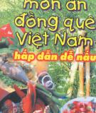 Ebook Món ăn đồng quê Việt Nam hấp dẫn dễ nấu