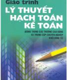 Giáo trình Lý thuyết hạch toán kế toán - NXB Giáo dục