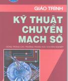 Giáo trình Kỹ thuật chuyển mạch số - KS.Nguyễn Văn Điềm