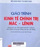 Giáo trình Kinh tế chính trị Mác - Lênin - Bộ GD & ĐT