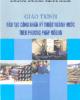 Giáo trình Đào tạo công nhân kỹ thuật ngành Nước theo phương pháp môđun - NXB Xây dựng