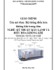 Giáo trình Hệ thống điều hòa không khí trung tâm - Nghề: Kỹ thuật máy lạnh và điều hòa không khí - Trình độ: Trung cấp nghề (Tổng cục Dạy nghề)