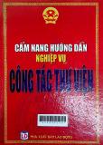Cẩm nang hướng dẫn nghiệp vụ công tác thư viện/ Quí Long, Kim Thư ( Sưu tầm và hệ thống hóa)