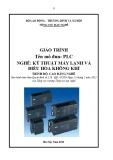 Giáo trình PLC - Nghề: Kỹ thuật máy lạnh và điều hòa không khí