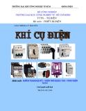 Giáo trình Khí cụ điện - ĐH Công nghiệp Hà Nội