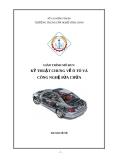 Giáo trình Mô đun Kỹ thuật chung về ô tô và công nghệ sửa chữa