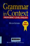 Grammar in context: Proficiency level English/