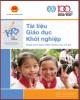 Ebook Tài liệu giáo dục khởi nghiệp (Dùng cho giáo viên THCS): Phần 1