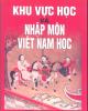 Ebook Khu vực học và nhập môn Việt Nam học: Phần 1