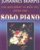 Ebook Các bản Sonat và biến tấu dành cho solo Piano