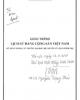 Giáo trình Lịch sử Đảng Cộng sản Việt Nam (Sử dụng trong các trường đại học - Hệ chuyên Lý luận chính trị)