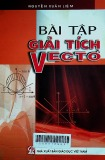Bài tập giải tích Vectơ