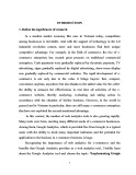 Graduate thesis: Implementing Google Analytics in marketing activity of SimiCart., LTD.
