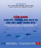 Cẩm nang Cam kết thương mại dịch vụ của Việt Nam trong WTO