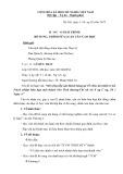 Báo cáo giải trình bổ sung, chỉnh sửa luận văn cao học – Đề tài: Mở rộng tiếp cận khách hàng tại Tổ chức tài chính vi mô Trách nhiệm hữu hạn một thành viên Tình thương-Chi nhánh Sông Công, Thái Nguyên