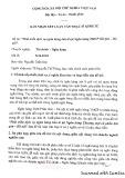 Bản nhận xét Luận văn Thạc sĩ Kinh tế: Phát triển dịch vụ ngân hàng bán lẻ tại Ngân hàng TMCP Sài Gòn - Hà Nội