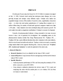 Gradute thesis: Traphaco JSC: Analysis and valuation