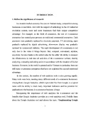Gradute thesis: Implementing Google Analytics in marketing activity of SimiCart., LTD
