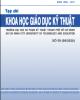 Tạp chí Khoa học Giáo dục Kỹ thuật - Số 59 (08/2020)