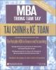 Ebook MBA trong Tài chính kế toán: Phần 3