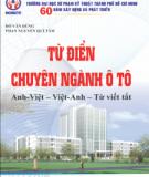 Từ điển chuyên ngành ô tô (Anh - Việt - Việt - Anh - Từ viết tắt)
