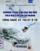 Chương trình giáo dục đại học theo học chế tín chỉ ngành công nghệ kỹ thuật ô tô