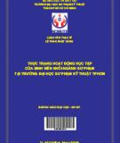Thực trạng hoạt động học tập của sinh viên khối ngành sư phạm tại trường Đại học Sư phạm Kỹ thuật Thành phố Hồ Chí Minh