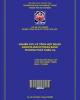 Nghiên cứu chế tạo Selen nano/ Oligochitosan bằng phương pháp chiếu xạ