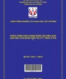 Hoàn thiện hoạt động đánh giá hiệu quả làm việc của nhân viên tại Công ty TNHH Vi Phi