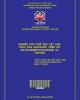 Nghiên cứu chế tạo vật liệu tách pha dầu/nước trên cơ sở Polydimethysiloxane và cotton