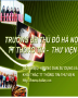 Tài liệu hướng dẫn sử dụng và khai thác TT Thông tin-Thư viện trường ĐH TĐHN