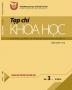 Tạp chí khoa học trường Đại học Thủ đô Hà Nội