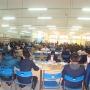 Sinh viên đến học tập và nghiên cứu tại Thư viện Nhà trường năm học mới