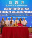 Hội nghị lần thứ 18 Liên hợp thư viện Việt Nam về nguồn tin KH&CN
